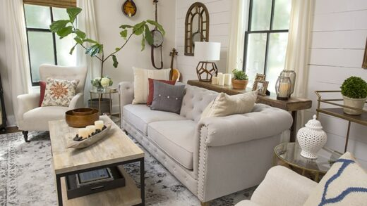 Tips for decorating a farmhouse style house