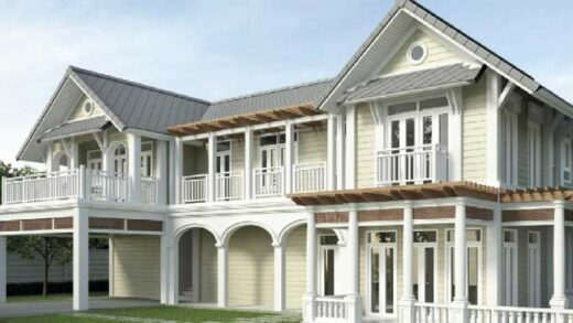 Introducing the colonial style house.
