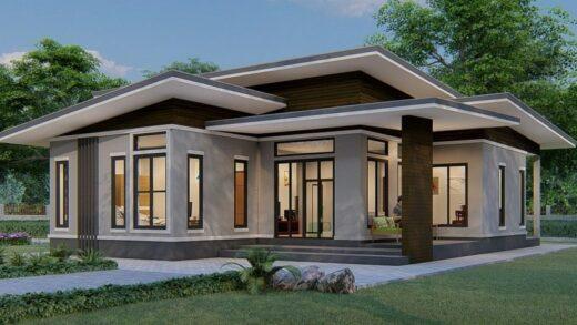 One-story concrete house design guide