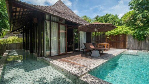 6 accommodation in a private villa