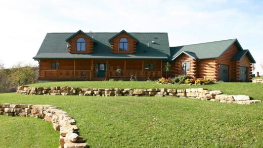 European style wooden house building guide