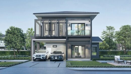 Information about the start of a 2-storey house renovation