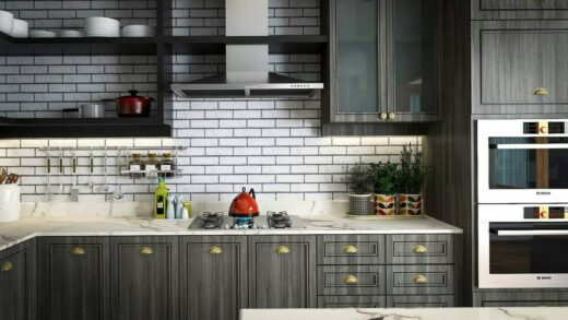 Ideas for making a built-in kitchen