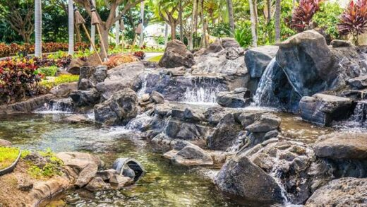 Tips for landscaping a waterfall